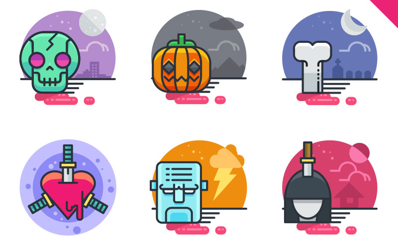 20-Halloween-Flat-Icons-FREE