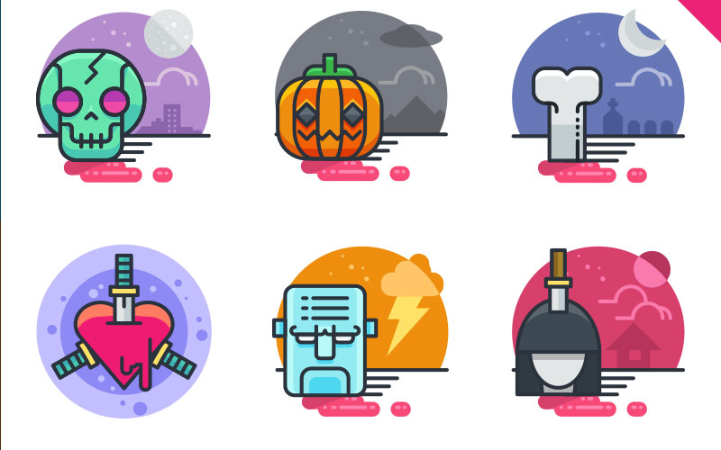 20-Halloween-Flat-Icons---FREE