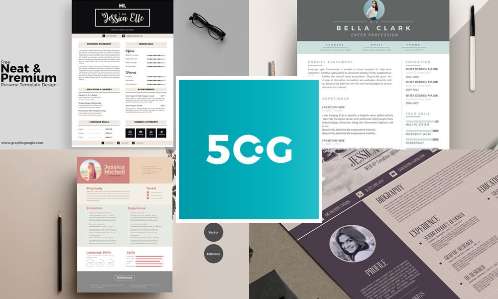 50-Free-Creative-CV-Resume-Design-Templates-For-All-Professionals