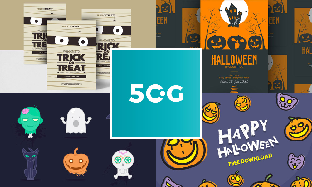 50-Free-Halloween-Vectors,-Graphics-&-Flyer-Template-Design-Resources