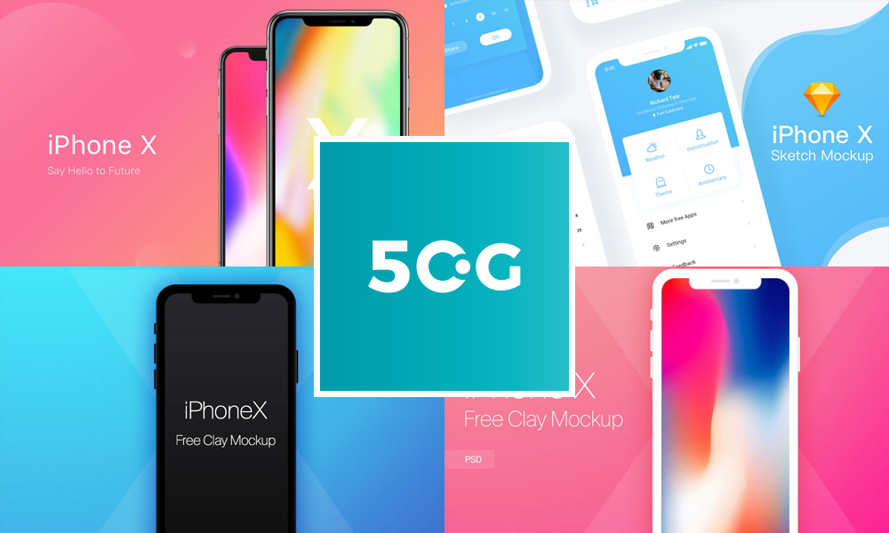 50-Free-iPhone-X-Mockup-Templates