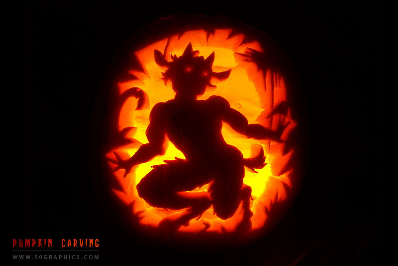 Faun-Pumpkin-Carving