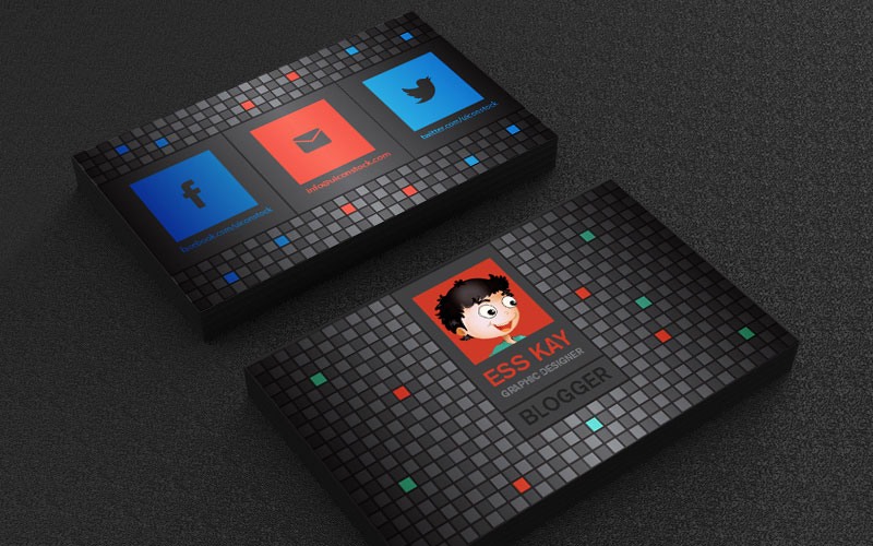 Flat-Business-Card-Design