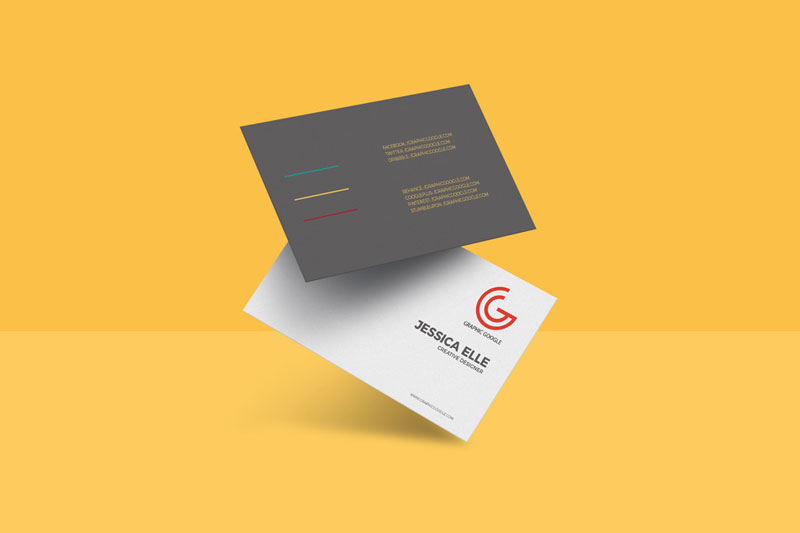 Floating-Business-Card-PSD-Mockup