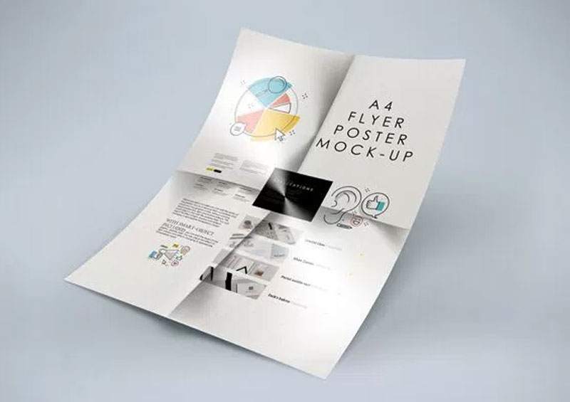 50 Flyers Free Psd Mockup Templates For Creative Designers