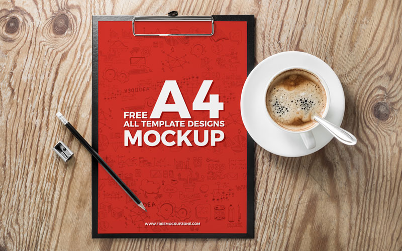 Free-A4-Flyer-&-All-Template-Designs-Mockup