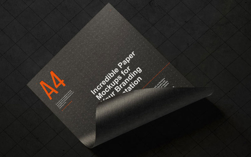 Free-A4-Paper-Branding-Mockup-For-Flyers-&-Letter-Head