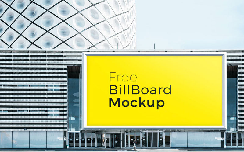 Free-Building-Billboard-Mockup