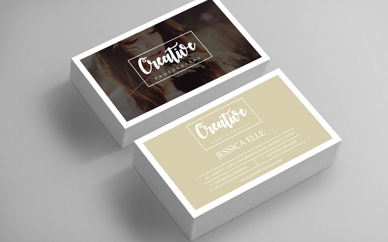 50 free world best creative business card design templates free creative photography business card design template accmission Image collections