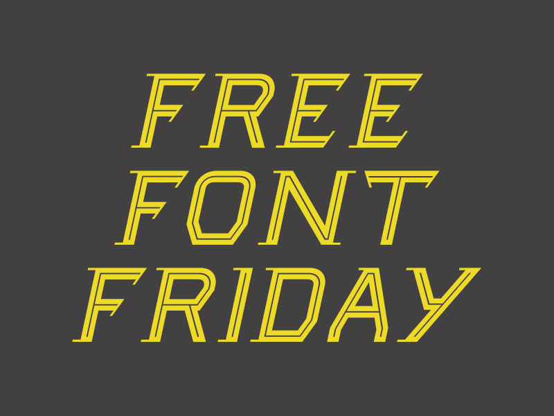 Free-Font-Friday