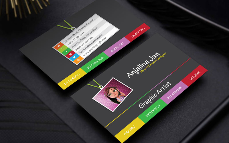 Free-Graphic-Artist-Business-Card-Template-Design