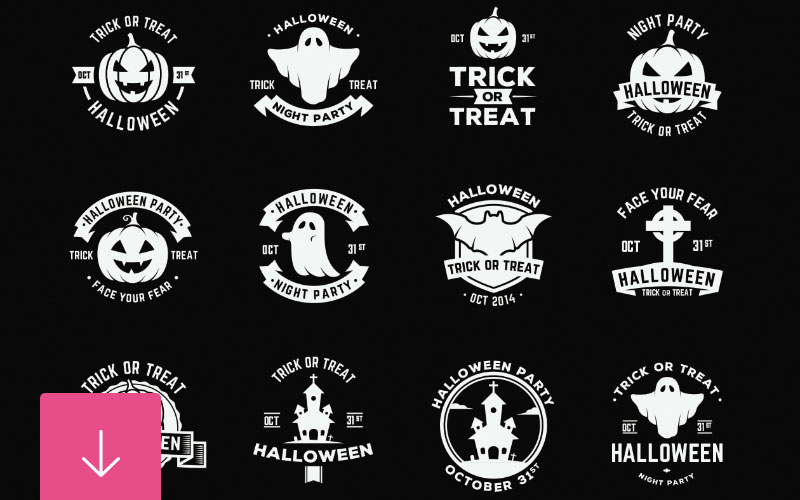 Free-Halloween-Badges