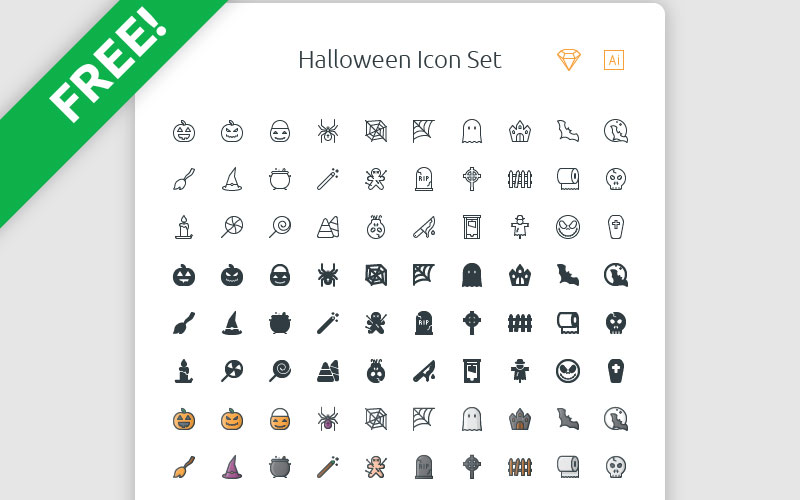 Free-Halloween-Icon-Set