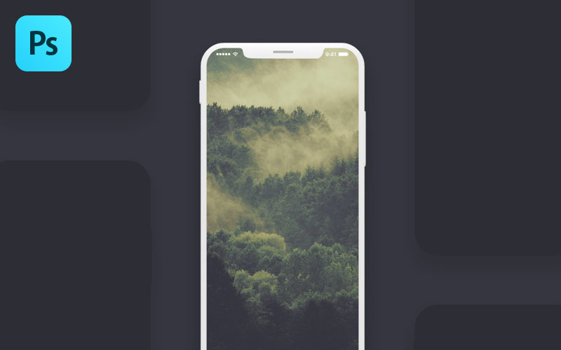 Free-Iphone-X-Screen-PSD-Mockup