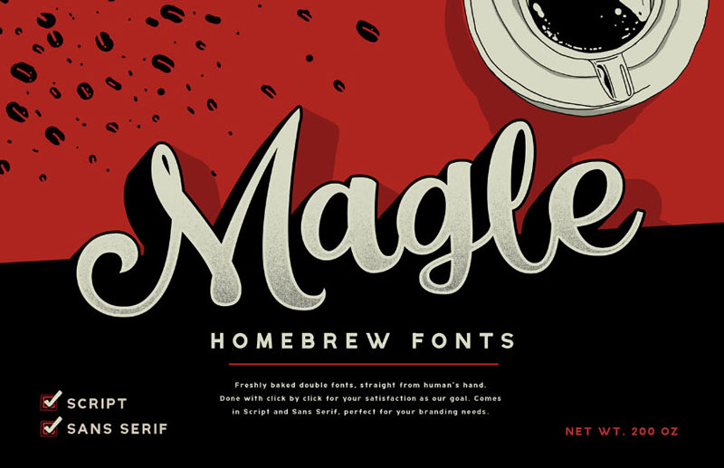 Free-Magle-Script-Demo-Typeface