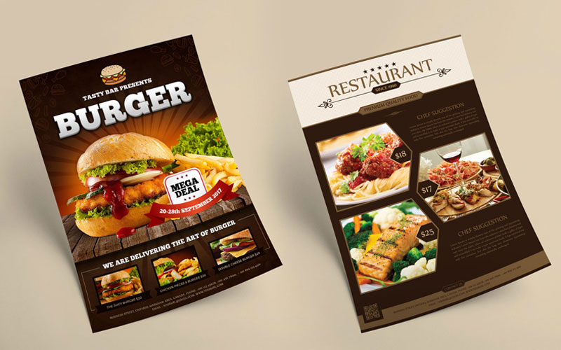 Free Multipurpose Flyers MockUps Templates Psd 1