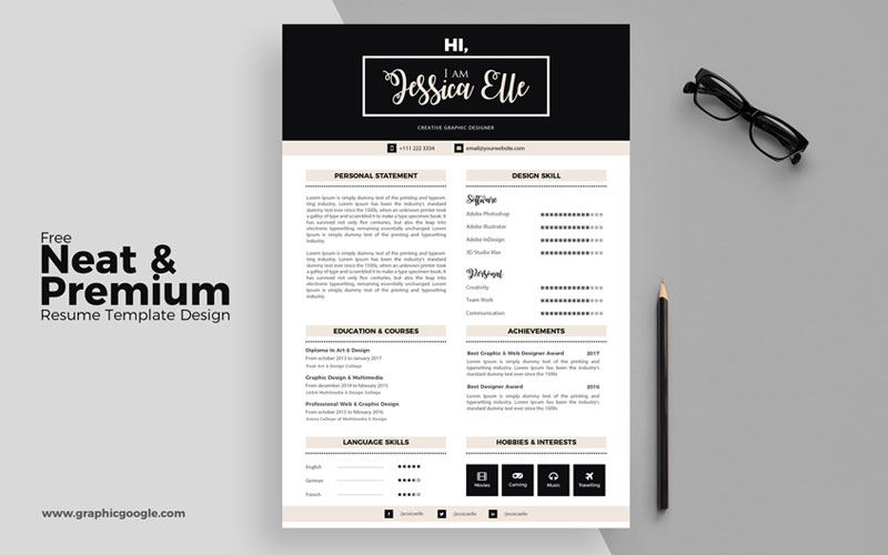Free Creative Cv Resume Design Templates For All Professionals