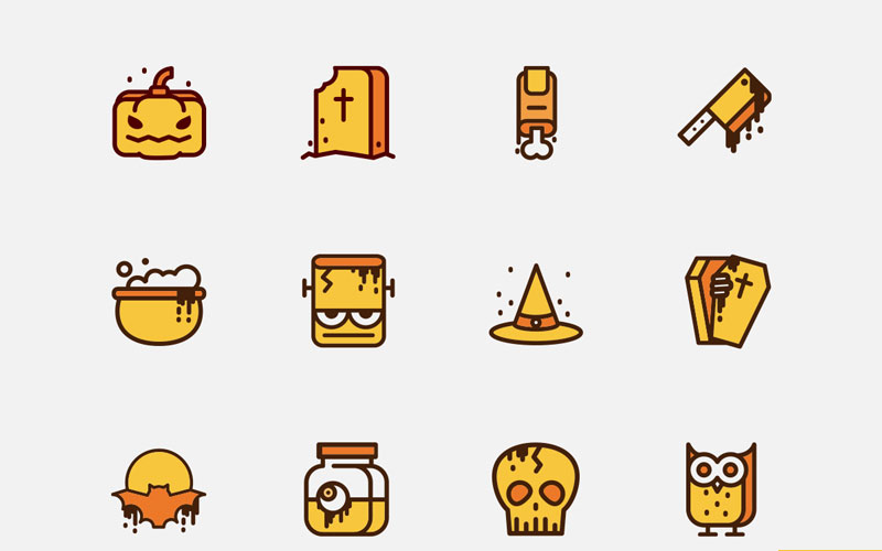 Free-New-Halloween-Icons