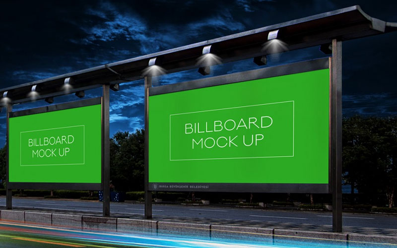 Free-Night-Billboard-Mockup