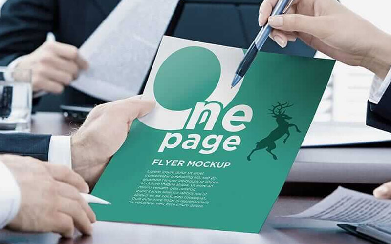 Free-PSD-One-Page-Flyer-Mockup