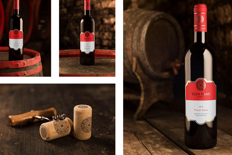 Free-Red-Wine-Bottle-Mockup-Set