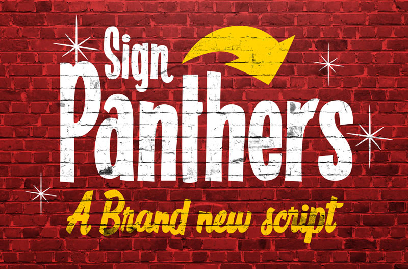 Free-Sign-Panthers-Typeface