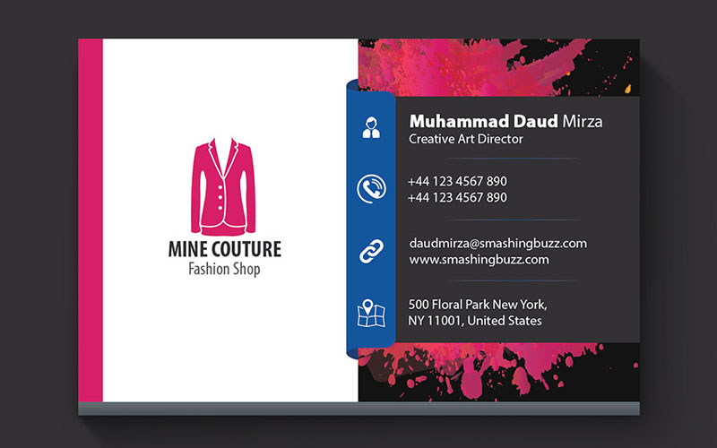 Free-Stylish-Business-Card-PSD-Template