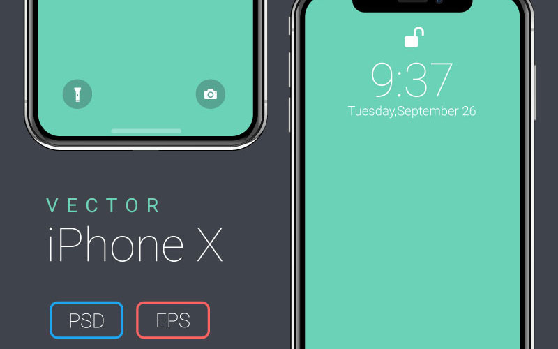 Free-Vector-iPhone-X-Mockup