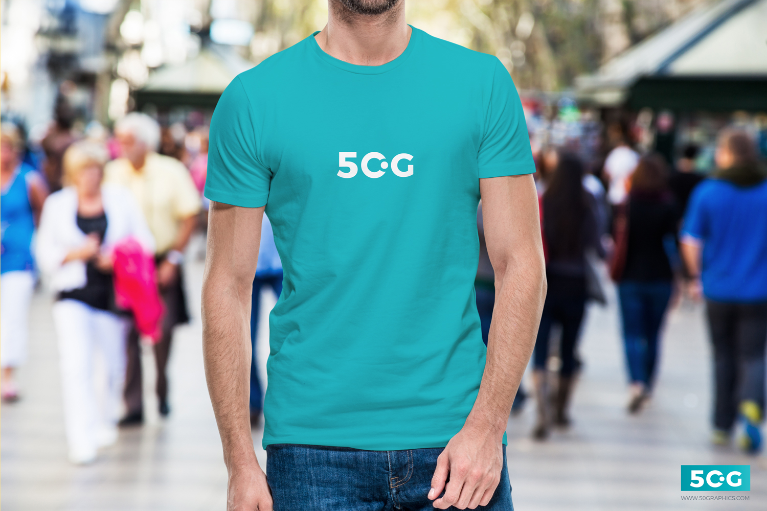 Free-Young-Man-Wearing-T-Shirt-Mockup
