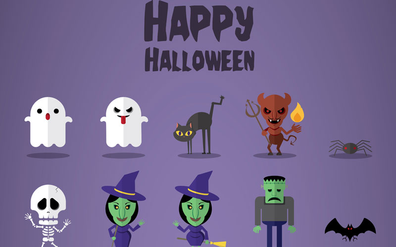Free-halloween-vector-kit
