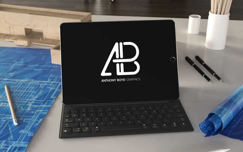 Free-iPad-Pro-on-Table-Mockup