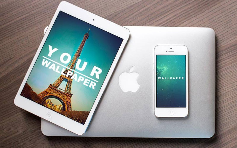 Free-iPad-and-iPhone-on-MacBook-Mockup