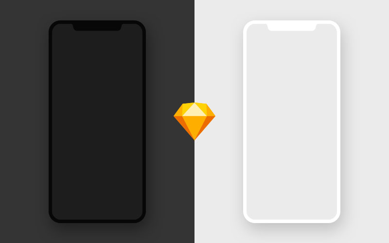 Free-iPhone-X-Mockup---Sketch