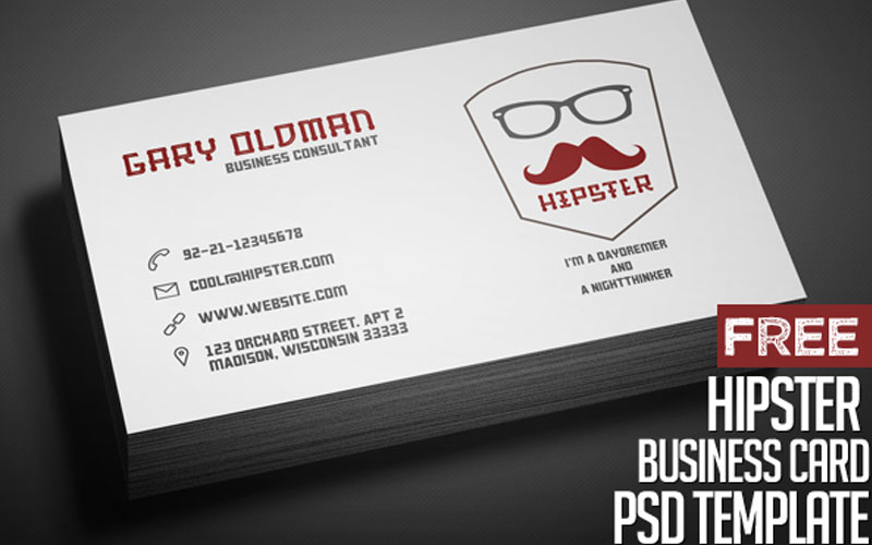 Freebie-–-Hipster-Business-Card-PSD-Template