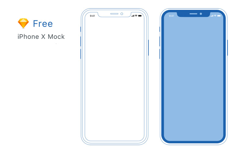 Freebie-Minimal-iPhone-X-Mockup