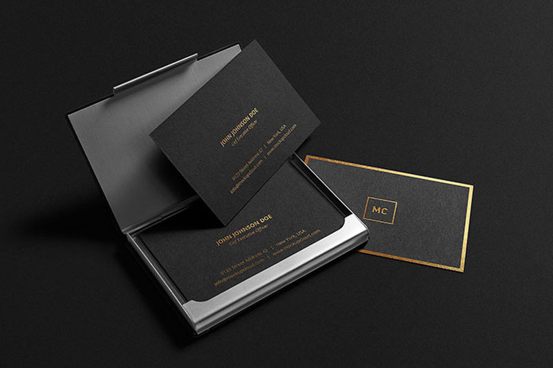 Gold-Lettering-Business-Card-Mockup