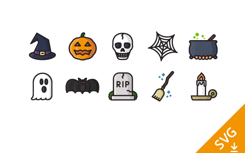 Halloween-icons-free-download
