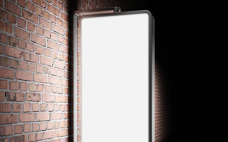 Illuminated-and-wall-mounted-outdoor-Billboard-Mockup