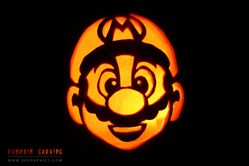 It's-Me-Mario-Pumpkin-Carving