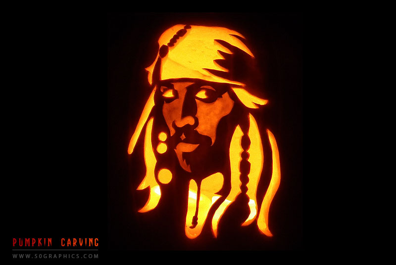 New-Captain-Jack-Sparrow-Pumpkin-Carving