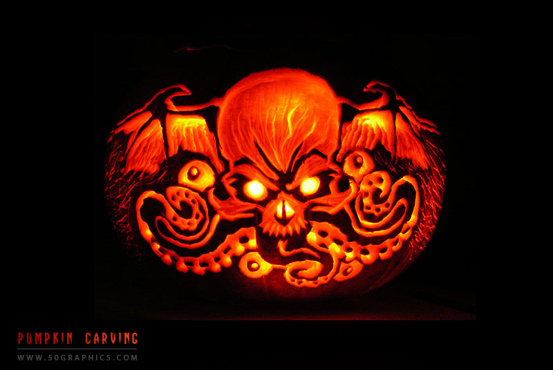 New-Skull-Pumpkin-Carving
