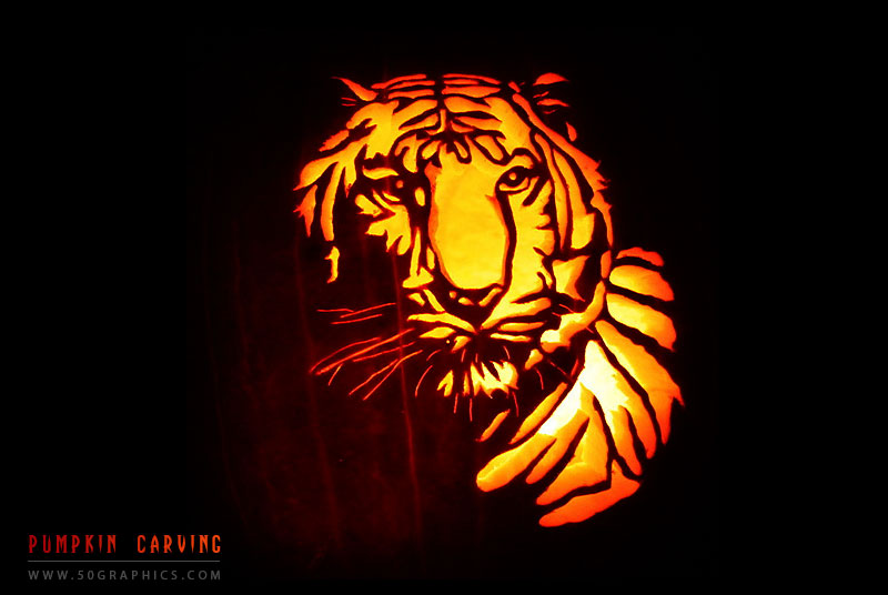 New-Tiger-Pumpkin-Carving
