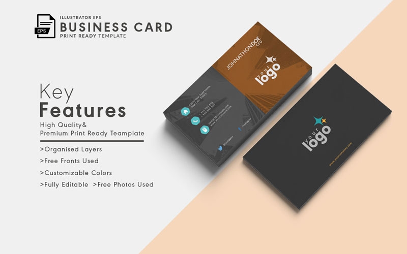 Print-Ready-Vector-Business-Visting-Card