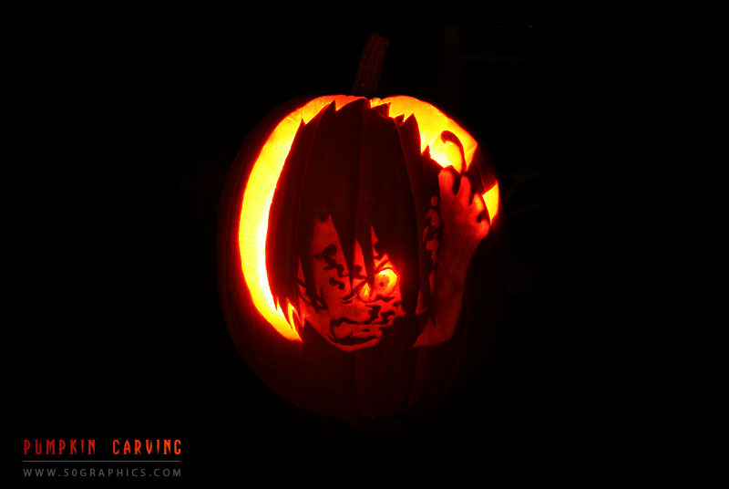 Sasuke-Pumpkin-Carving