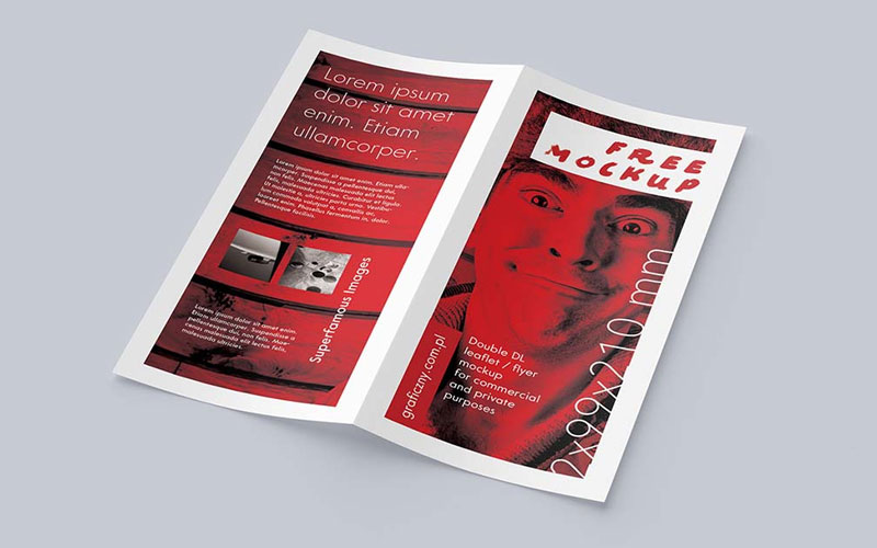 Set-of-Bi-fold-Flyer-Mockups