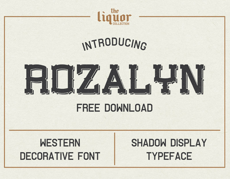 Shadow-Free-Font