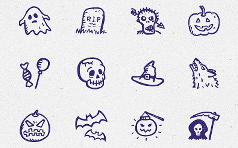 Spooky-Icons-Free-–-12-hand-drawn-Halloween-icons