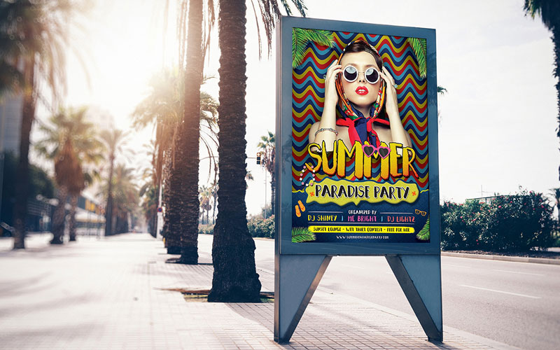 Street-City-Free-Billboard-Banner-Mock-up-PSD-For-Advertisement