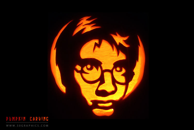 The-Pumpkin-Who-Lived-Carving