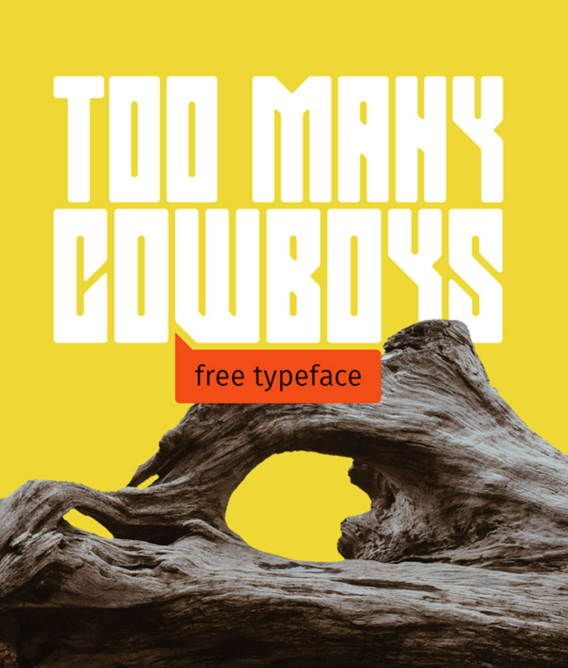 Too-Many-Cowboys-Free-Font